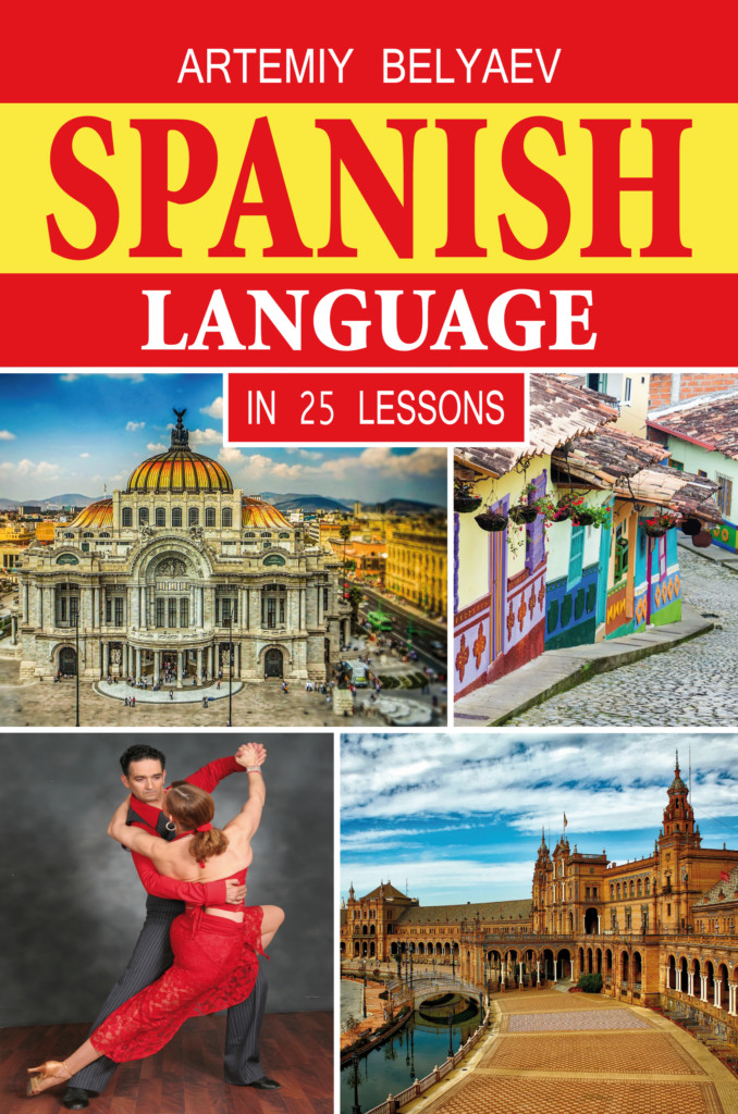 Spanish language in 25 lessons book cover
