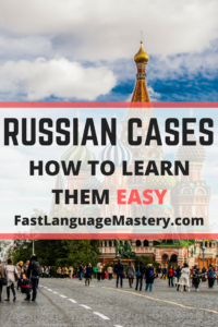 Learn Russian language cases easy